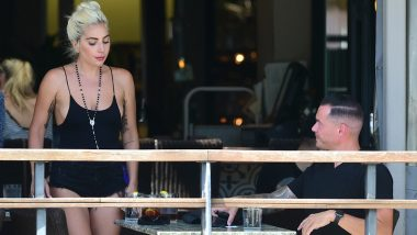 Lady Gaga and Beau Daniel Horton Spend Time at a Music Concert in Los Angeles
