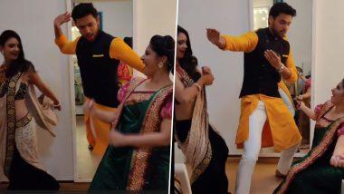 Kasautii Zindagii Kay 2: Parth Samthaan Shakes a Leg to Dream Girl's Dhagala Lagali Song With Pooja Banerjee and Shubhaavi Choksey on the Sets (Watch Video)