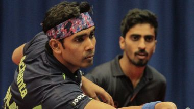 Asian Table Tennis Championships 2019: Sathiyan and Sharath Kamal Storm into Men's Double Quarter-Finals