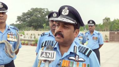 Indian Air Force Prepared for Another Balakot-Like Airstrike If Needed, Says New Air Chief Marshal RKS Bhadauria