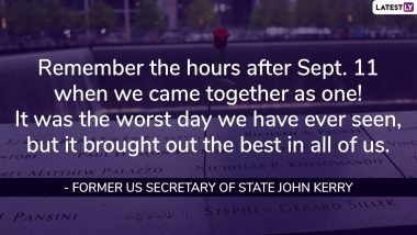 9/11 Quotes & Sayings: Heartfelt Memorial Messages to Remember Victims of September 11 Attacks in the United States