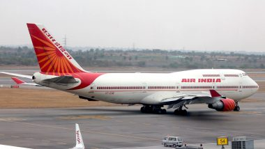 Bhubaneswar-Mumbai Air India Flight AI 670 Makes Emergency Landing at Chhattisgarh's Raipur Airport After Suspected Engine Fire