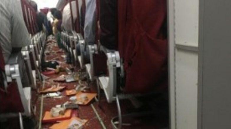 Air India Delhi-Vijayawada AI 467 Affected by Severe Thunderstorm, Cabin Crew Injured