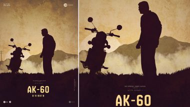 AK 60: Ajith Kumar Fans Trend #CantWaitForTHALA60 With a Fan-Made Poster (View Pic)