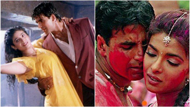 Akshay Kumar Birthday: Priyanka Chopra, Shilpa Shetty and Other Actresses Who Had Crackling Chemistry With Khiladi