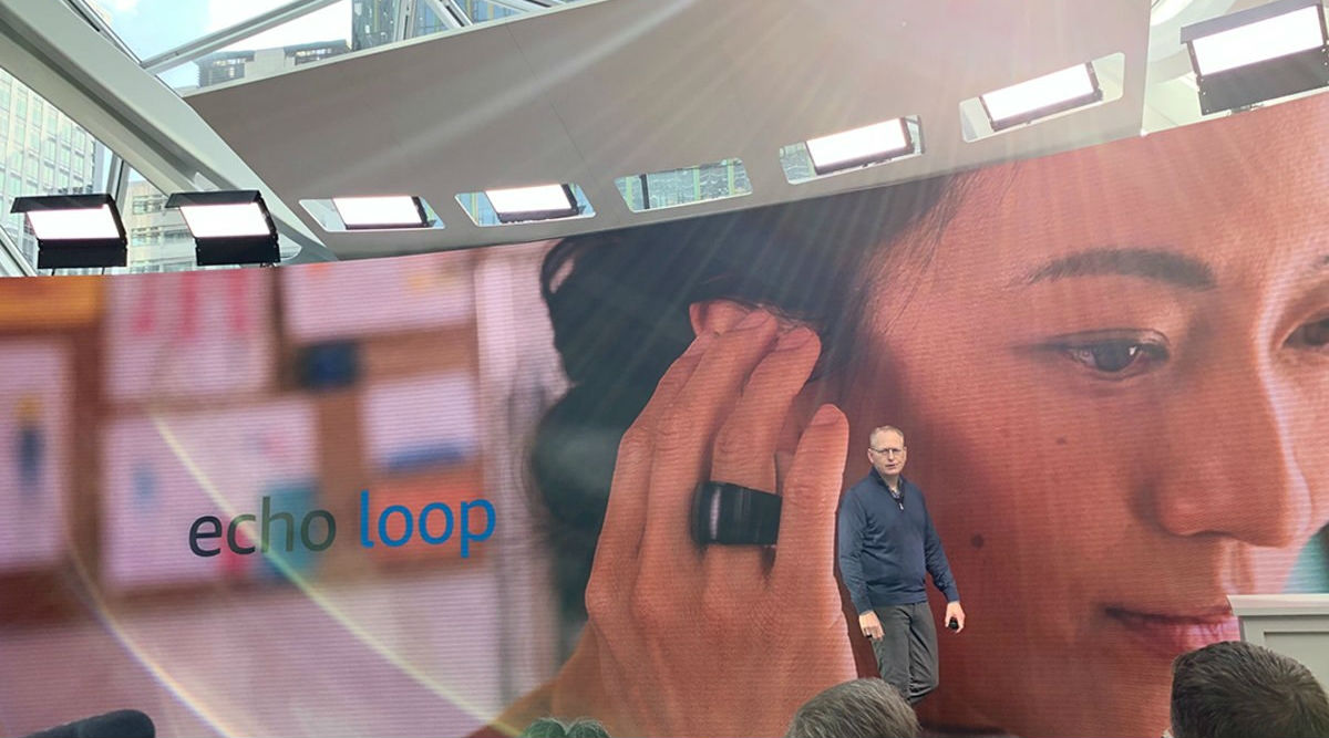 'Echo Loop': Wear Alexa Smart Ring On Your Finger Soon