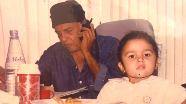 Alia Bhatt's Wish For Daddy Mahesh Bhatt On His Birthday Is Cute Beyond Words