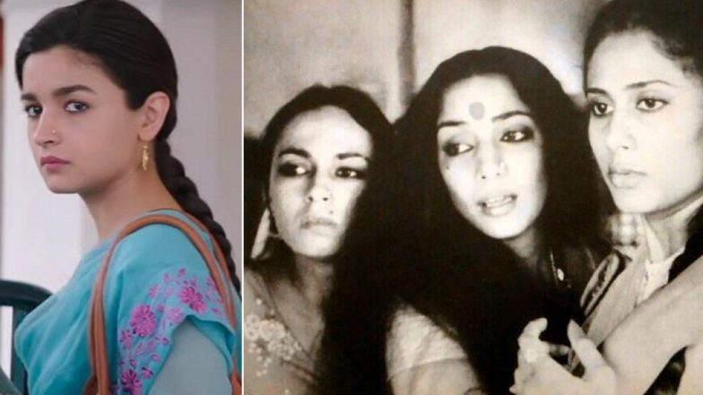 Shabana Azmi Shares a Still from Mandi and Says, 'Alia Bhatt Looks Exactly Like Her Mother Soni Razdan'! We Totally Agree