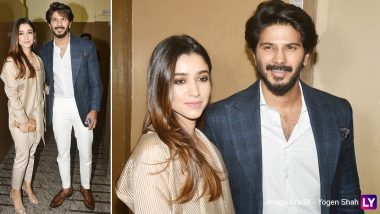 The Zoya Factor: Amal Sufiya Joins Hubby Dulquer Salmaan for the Special Screening!