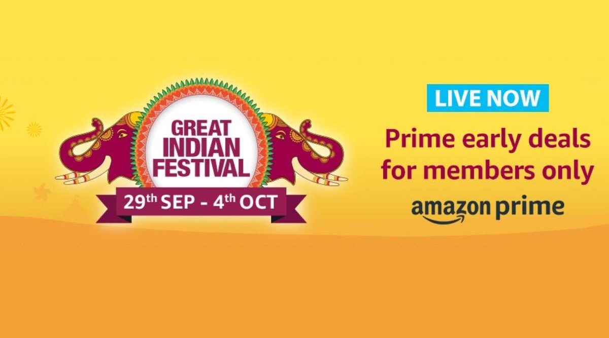Amazon Great Indian Festival Sale 2019 Live For Prime Members: Exciting Offers on OnePlus 7T, OnePlus 7, Galaxy M10s, iPhone XR & Other Smartphones