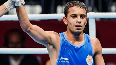 Amit Panghal Assures Silver Medal by Becoming First Indian Male Boxer to Reach World Boxing Championships Final
