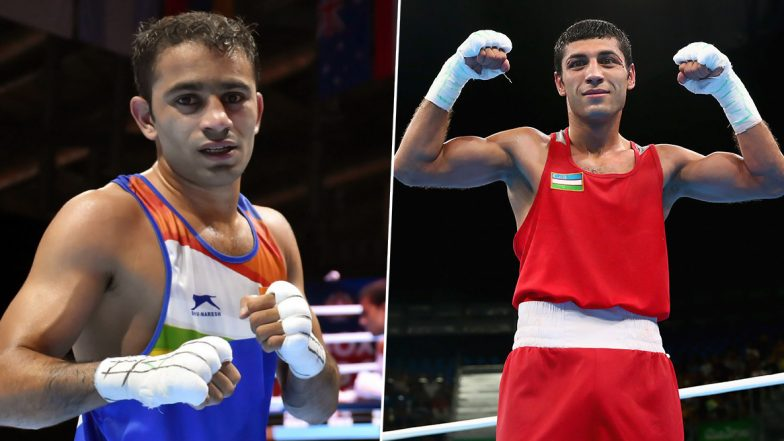 Amit Panghal vs Shakhobidin Zoirov, World Boxing Championships 2019 Men's Final Live Streaming Online: Know Match Time in IST and How to Watch Free Live Telecast on 'AIBA Boxing YouTube'
