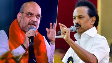 Hindi Diwas 2019: MK Stalin Hits Out at Amit Shah on 'One Language' Comment, Demands Union Minister to Take Back His Remarks