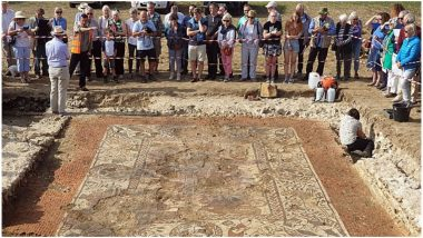 Ancient Roman Art Depicting Mythical Chariot Race Unearthed in Berkshire Village; Know the Story Behind The Artwork
