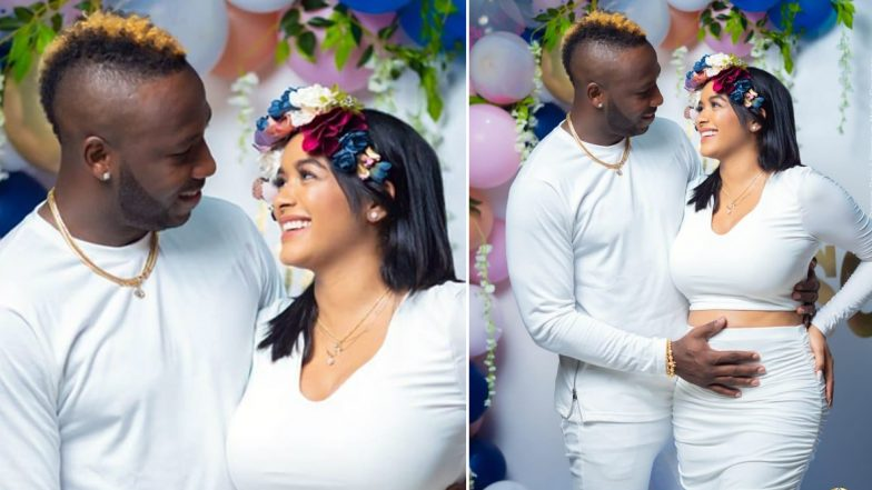 Andre Russell and Wife Jassym Lora Announce Pregnancy News in a Heartfelt Video