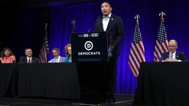 US Tech Entrepreneur Andrew Yang, Upending 2020 White House Race