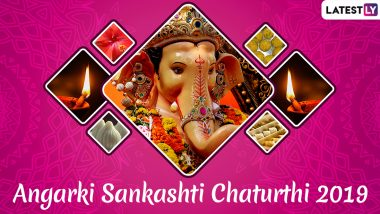 Angarki Sankashti Chaturthi 2019 Date: Legends, Significance and Puja Vidhi of This Auspicious Vrat Dedicated to Lord Ganesha