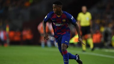 Barcelona Starlet Ansu Fati Creates La Liga History, Becomes Youngest Player to Score Brace in Spanish Top Division