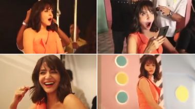 Anushka Sharma Yawning While on a Shoot Is Just Us Struggling at Work! (Watch Video)