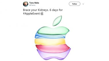 Apple Announces iPhone Special Event 2019 on September 10, Netizens Say 'Brace Your Kidneys!' (Check Funny Memes and Jokes)