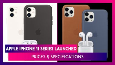 Apple iPhone 11 Series, Watch Series 5, Apple Arcade & Apple TV+ Launched; Prices & Specifications