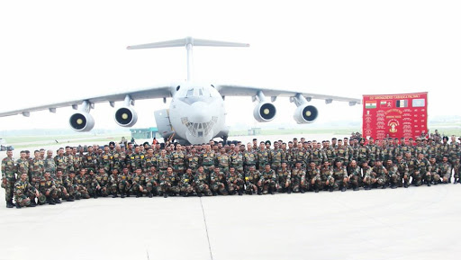 TSENTR 2019: Indian Army Team Leaves for Russia to Take Part in Multilateral Exercise Along With Pakistan & Chinese Armies