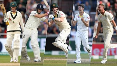 Ashes 2019 5th Test, Key Players: Steve Smith, Marnus Labuschagne, Stuart Broad & Other Cricketers to Watch Out for in England vs Australia Match at the Oval