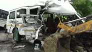 Assam Road Accident: 10 Dead After Overspeeding Bus Collides With Tempo on NH-37 in Demow