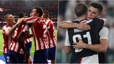Atletico Madrid vs Juventus, UEFA Champions League Live Streaming Online: Where to Watch CL 2019–20 Group Stage Match Live Telecast on TV & Free Football Score Updates in Indian Time?