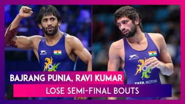 Bajrang Punia, Ravi Kumar Dahiya Lose Semi-Final Bouts After Securing 2020 Tokyo Olympics Berth