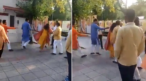 Delhi BJP Leader Azad Singh Slaps Wife, Removed From Post After Video Goes Viral