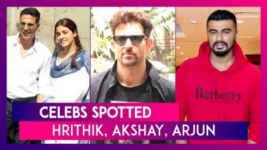 Celebs Spotted: Hrithik Roshan, Akshay Kumar, Ranveer Singh, Arjun Kapoor & Others Seen In The City
