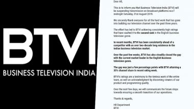 Anil Ambani Owned Business News Channel BTVI Goes Off-Air Suddenly, Shocks Media Industry