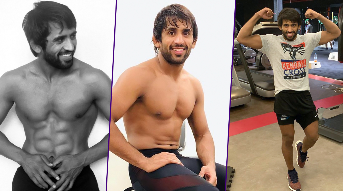 Bajrang Punia Workout & Diet Secret: The Ultimate Fitness Regime of Indian Freestyle Wrestler (Watch Videos)
