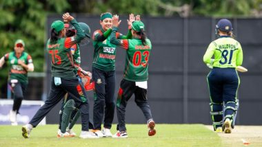 Live Cricket Streaming of ICC World Twenty20 Women's Qualifier 2019 Online: Watch Live Score of Bangladesh vs Thailand T20I Final Match on YouTube