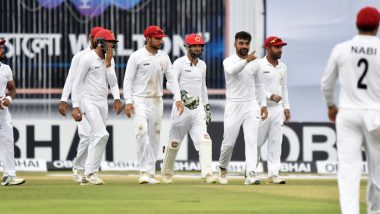 How To Watch Afghanistan v Zimbabwe 1st Test 2021 Live Streaming Online in India? Get Live Telecast of AFG vs ZIM Match & Cricket Score Updates on TV