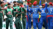 Live Cricket Streaming of Bangladesh vs Afghanistan 3rd T20I on Hotstar & Gazi TV: Check Live Cricket Score Online, Watch Free Telecast of BAN vs AFG Tri-Nation Series 2019 Match on Star Sports