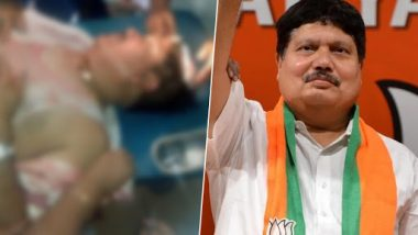 West Bengal: Barrackpore BJP MP Arjun Singh Gets Injured in Clash Over Party Office Capture in Shyamnagar, Blames TMC Workers For VIolent Attacks