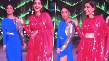 Dance India Dance 7: Kareena Kapoor Khan and Sonam Kapoor Groove to 'Taarefan' Together and We are Loving This Veere Di Wedding Reunion (Watch Video)