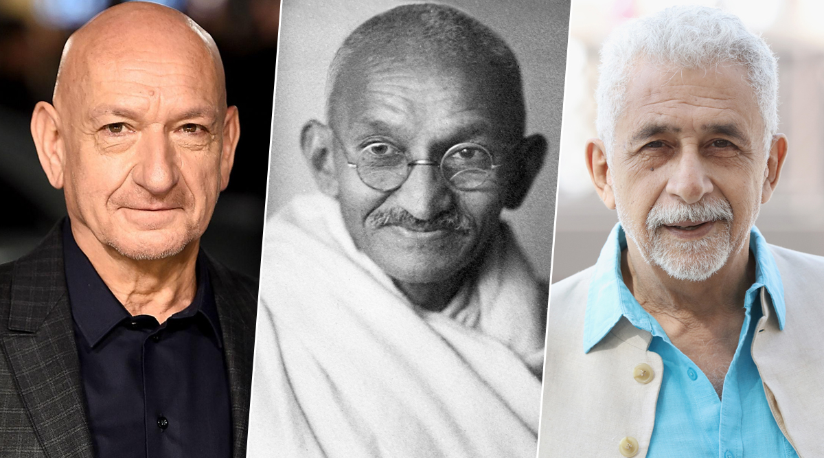 Gandhi Jayanti 150th Birth Anniversary: From Ben Kingsley to Naseeruddin Shah – Actors Who Have Played Mahatma Gandhi's Role in Films