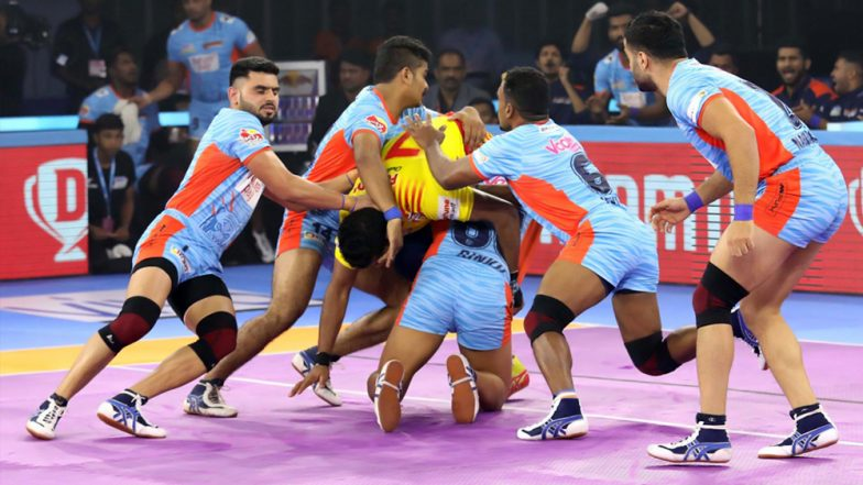 Bengal Warriors vs U Mumba, PKL 2019 Semi-Final 2 Match Free Live Streaming and Telecast Details: Watch BEN vs MUM, VIVO Pro Kabaddi League Season 7 Clash Online on Hotstar and Star Sports