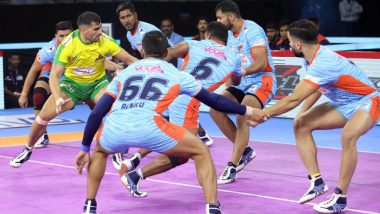 PKL 2019 Dream11 Prediction for Bengal Warriors vs Gujarat Fortunegiants: Tips on Best Picks For Raiders, Defenders and All-Rounders For KOL vs GUJ Clash