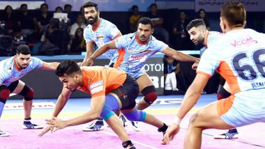 Bengal Warriors vs Bengaluru Bulls PKL 2019 Match Free Live Streaming and Telecast Details: Watch KOL vs BEN, VIVO Pro Kabaddi League Season 7 Clash Online on Hotstar and Star Sports