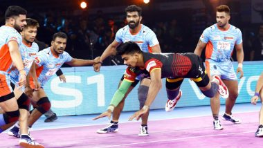 PKL 7 Match Report: Bengal Warriors Beat Bengaluru Bulls 42-40