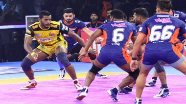 Pro Kabaddi League 7 Match Report: Bengal Warriors Pip Telugu Titans 40-39
