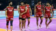 UP Yoddha vs Bengaluru Bulls, PKL 2019 Eliminator 1 Match Free Live Streaming and Telecast Details: Watch UP vs BLR, VIVO Pro Kabaddi League Season 7 Clash Online on Hotstar and Star Sports