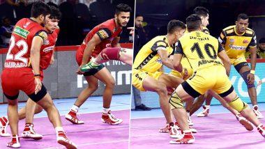 Bengaluru Bulls vs Telugu Titans PKL 2019 Match Free Live Streaming and Telecast Details: Watch BEN vs TEL, VIVO Pro Kabaddi League Season 7 Clash Online on Hotstar and Star Sports