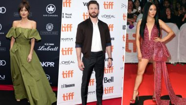 Toronto International Film Festival 2019  Best Dressed: Chris Evans, Constance Wu and Dakota Johnson Show How It's Done!