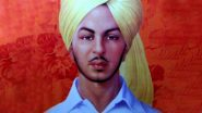 Bhagat Singh Jayanti 2021: Netizens Pay Tribute to India's Great Revolutionary And Freedom Fighter on His 114th Birth Anniversary