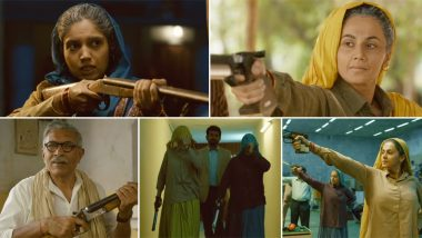 Saand Ki Aankh Trailer: Taapsee Pannu and Bhumi Pednekar As Tomar Daadis Are Raw, Rugged and Impressive! (Watch Video)